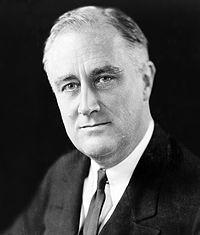 ルーズベルト大統領(Wikipediaより)