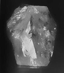 カリナンの原石(Wikipediaより)