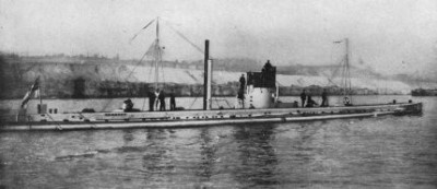 ドイツのUボート(Wikimediacommonsより)