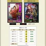 戦国IXA攻略ブログ伊藤一刀斎ランクアップ★1→★2