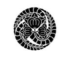 小寺家の定紋「藤巴」