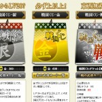 戦国IXA攻略ブログくじイメージ