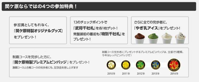 関ヶ原陣跡制覇ウォーキング3