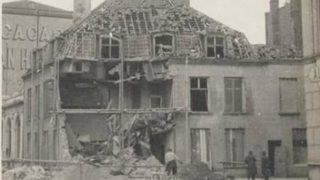 A house in France destroyed during World War One.Credit: Bonhams