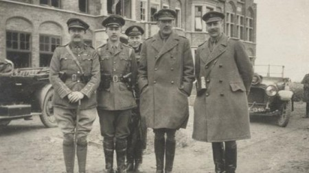 Military officers pictured in 1915. Credit: Bonhams