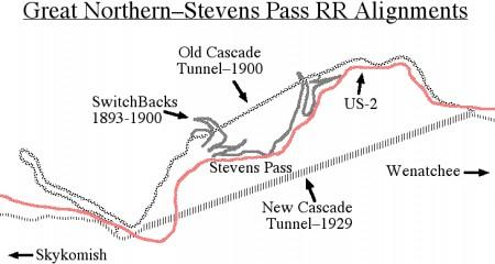 事故をキッカケに線路は変更され街は結局ゴーストに・・・/Wikipediaより引用
