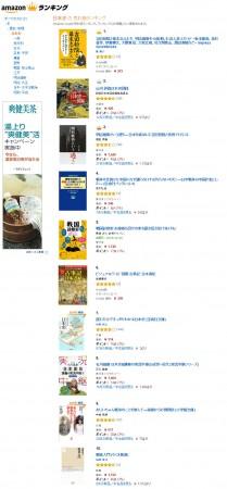 アマゾン売れ筋ランキング5位日本史2