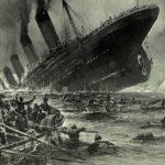 タイタニック号と救命ボート