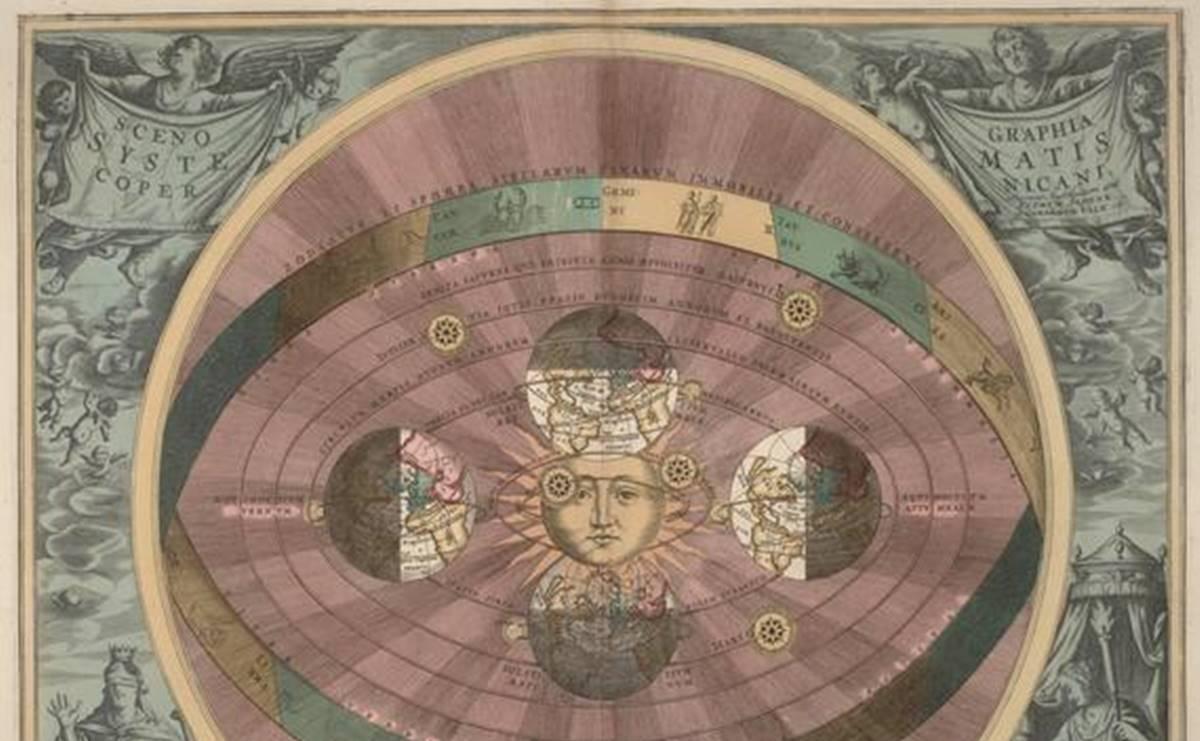 地動説の図